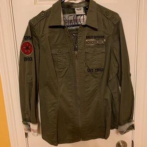 Harley Davidson army shirt
